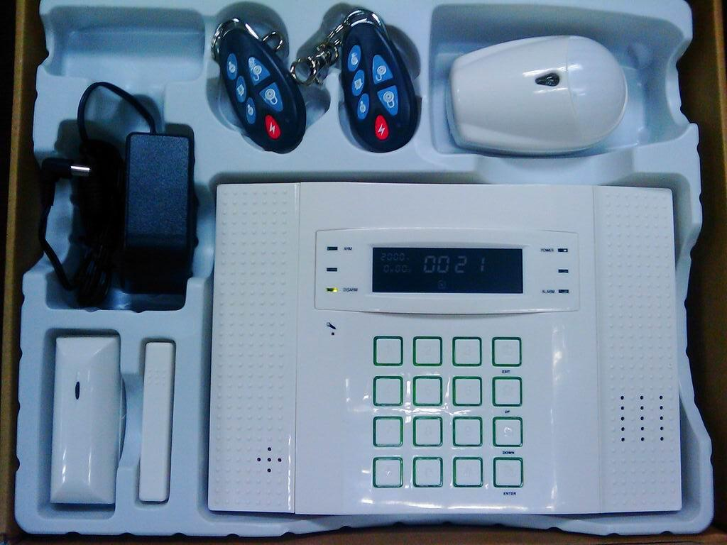 Alarm Panel GSM/PSTN DIY Security Burglar Alarm Fire Detection